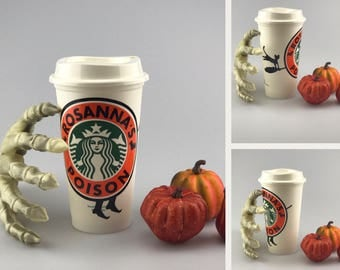 Halloween Starbucks Cups - Personalized Starbucks Cups - Starbucks Halloween - Custom Starbucks - Gifts for Her - Fall Gifts - Halloween