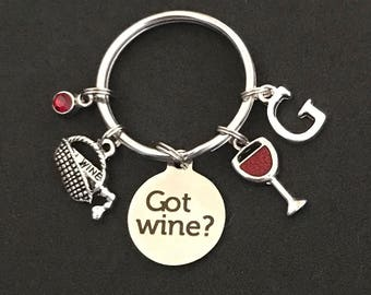 Wine Keychain