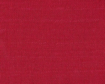 B Black and Sons - Silk Matka - Red - By the Yard