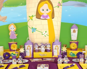 Tangled party; Tangled Birthday Party; Tangled package; Rapunzel Party; Tangled Party Decor; Party decor; Tangled; Tangled Birthday