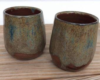 Handmade Pottery Wine Cup
