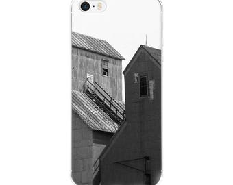 iPhone 5/5s/Se, 6/6s, 6/6s Plus Case - Red Silo Original Art - Twin Towers