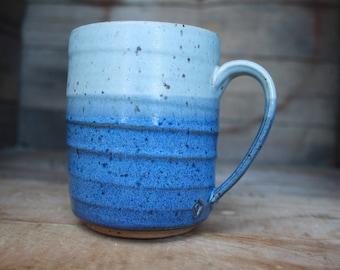 Coffee Mug - Pottery Mug - Wheel Thrown Pottery - Ceramics & Pottery - KJ Pottery