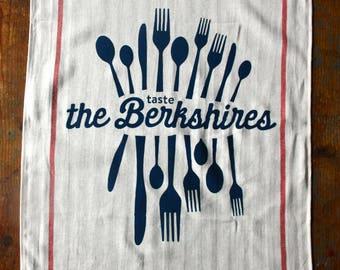 Taste the Berkshires tea towel