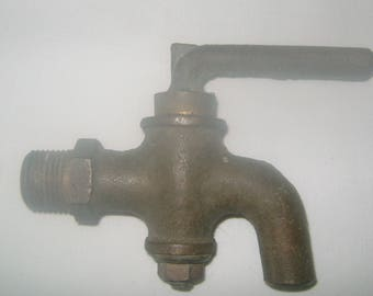 Brass Handle Valve, Steam Punk Supply