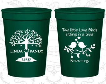 Forest Green Stadium Cups, Forest Green Cups, Forest Green Party Cups, Forest Green Wedding Cups (249)