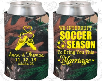 Camouflage Wedding, Camouflage Can Coolers, Camouflage Wedding Favors, Camouflage Wedding Gift, Camouflage Party Gift (311)
