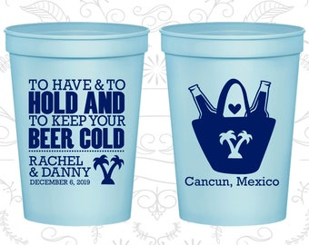 Light Blue Stadium Cups, Light Blue Cups, Light Blue Party Cups, Light Blue Wedding Cups (438)