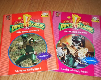 Saban 90s Mighty Morphin Power Rangers Coloring & Activity Books