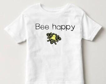 Bee Happy Kids Shirt/Onesie