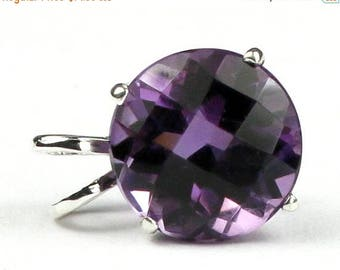 On Sale, 20% Off, Amethyst, 925 Sterling Silver Pendant, SP089