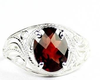 On Sale, 30% Off, Mozambique Garnet, 925 Sterling Silver Ladies Ring, SR083