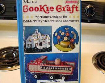 Cookie Craft by Barbara Williams, Vintage cookie cookbook, no bake cookie craft cookbook, vintage cookbook