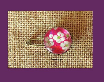 Liberty brooch mitsi pink