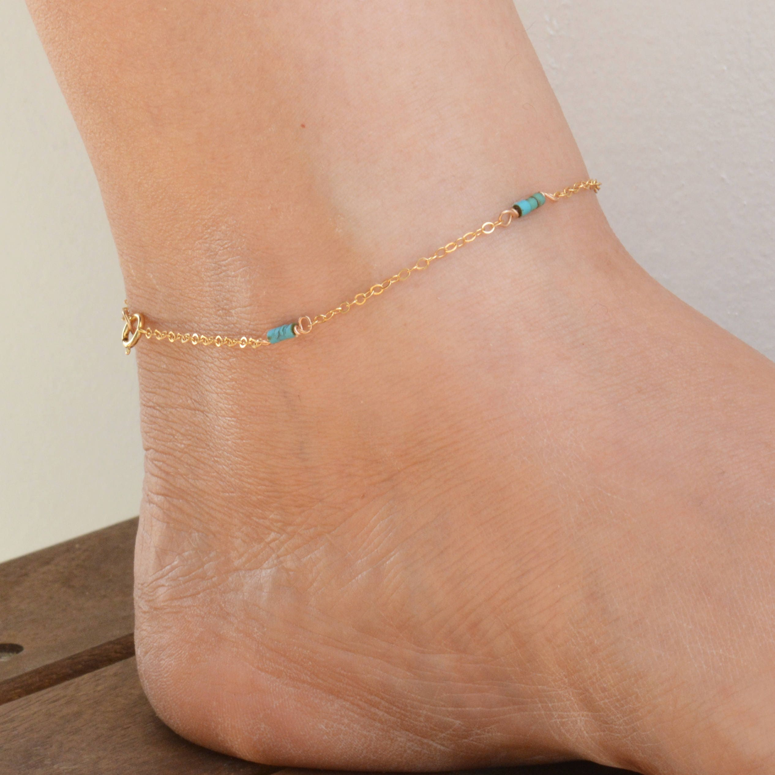 rose for gold beaded moonstone rainbow anklets women anklet products wanderlust hearts