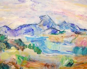 France landscape glicee prints