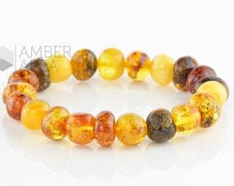 Baltic Amber Bracelet Adults // 5826