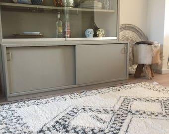 Moroccan Beni Ouarain rug 1.23x1.73 meters = 49x69 inches