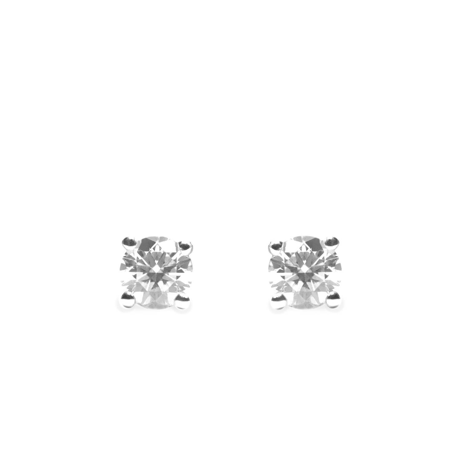 small shop gold white shape diamond earrings iroff son
