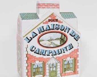 Cute Vintage Estello La Maison de Campagne Piggy Bank Made in France