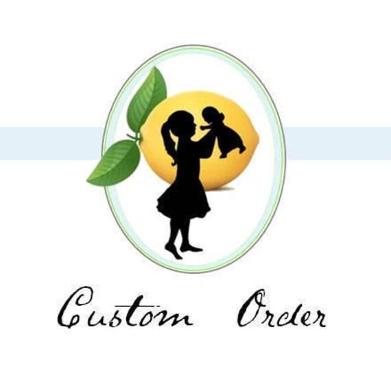 Custom Order for rumonkey74