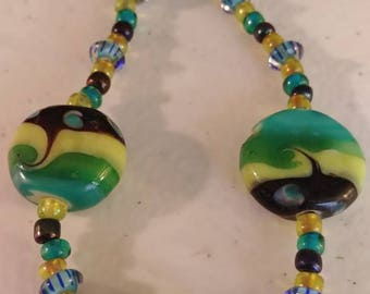 Glass Beaded Choker Necklace