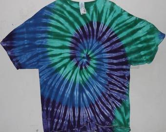 """Adult 2X T-Shirt, """"Blues/Greens/Purples""""  (F)"""