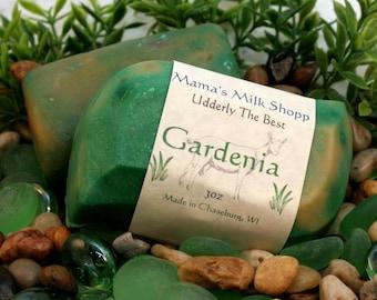 Goat Milk Soap - Gardenia - Handmade Soap - Made in Wisconsin - Farm Fresh - Goat's Milk