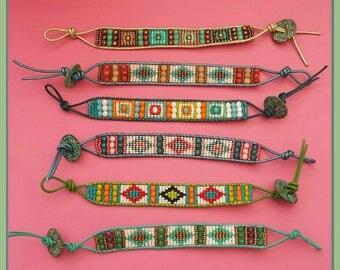 Bracelets Chan style luu made with loom