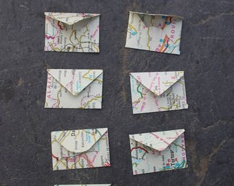 FAIRYTALE Tiny Map Envelopes