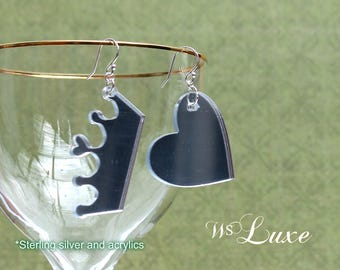 Mirror Image - Mismatched Earrings