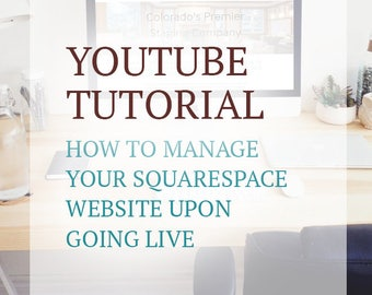YouTube Video Tutorial - Website Management