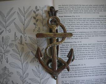 Vintage Brass Door Knocker - Anchor Door Knocker - Antique Door Knocker - Brass door knocker & Anchor door knocker | Etsy Pezcame.Com