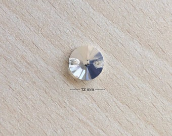 rhinestone disc 12 mm