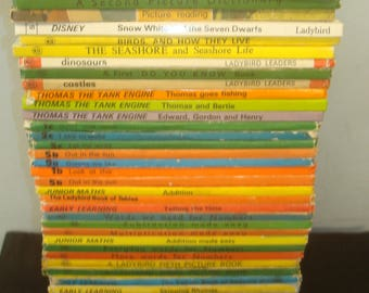 Set of 47 Ladybird Mixed Series Early Learning Books. All in good condition or better