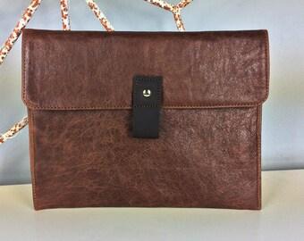"New 2017 12"" Leather Macbook Case"
