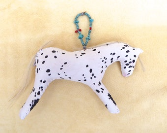 Spirit horse ornament hanging decoration Native American Indian spotted pony Appaloosa ranch western cowgirl cowboy Christmas southwestern