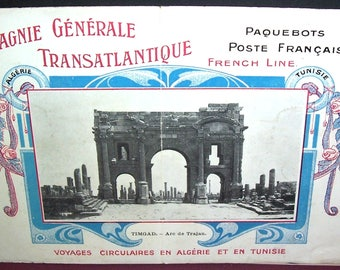 1913 SS Rochambeau cruise-ship passenger list, French Line