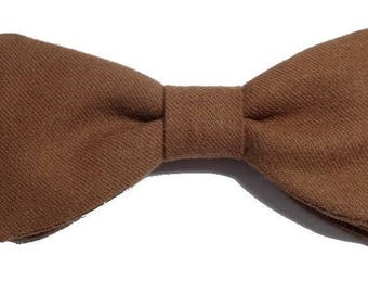 Bow tie, caramel to straight edges