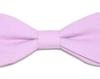 Purple bow with straight edges