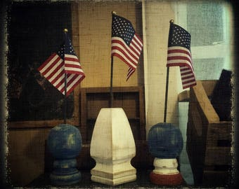 Finial and Flag