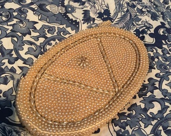 Vintage beaded coin purse.