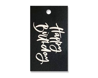 Happy Birthday Tags - Pack of 10