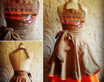 Ghostbusters apron dress