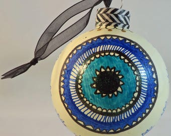Evil Eye / Talisman Ornament ; Christmas or for everyday protection