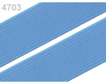 2 cm 4703 sky blue elastic band