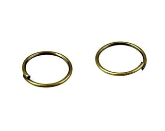 60 g 1 cm bronze metal rings