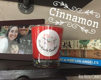 Cinnamon Candy Soy Candle