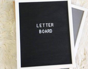 "Letter Board 16""x20"" IN STOCK | | Felt Letter Board | 298 letters included | on trend graduation dorm gift diy"