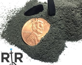 Crushed Black Tourmaline Crystal Powder - 100% Natural Without Fillers